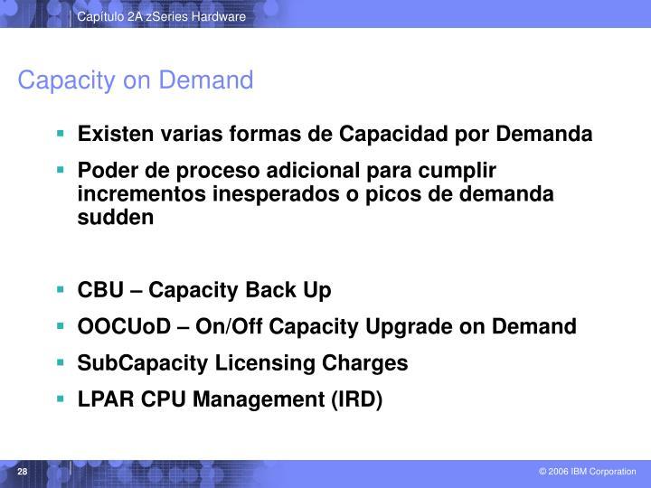 Capacity on Demand