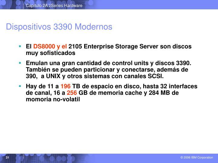 Dispositivos 3390 Modernos