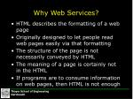 why web services