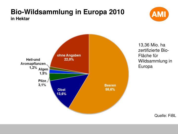 Bio-Wildsammlung in Europa 2010