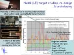 numi le target studies re design prototyping