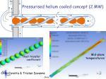 pressurised helium cooled concept 2 mw