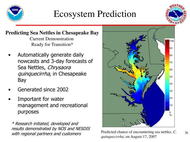 Ecosystem Prediction