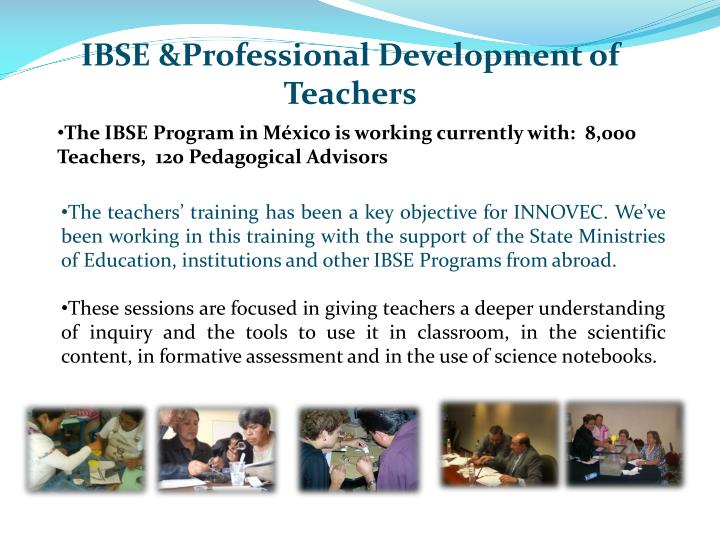 IBSE &Professional