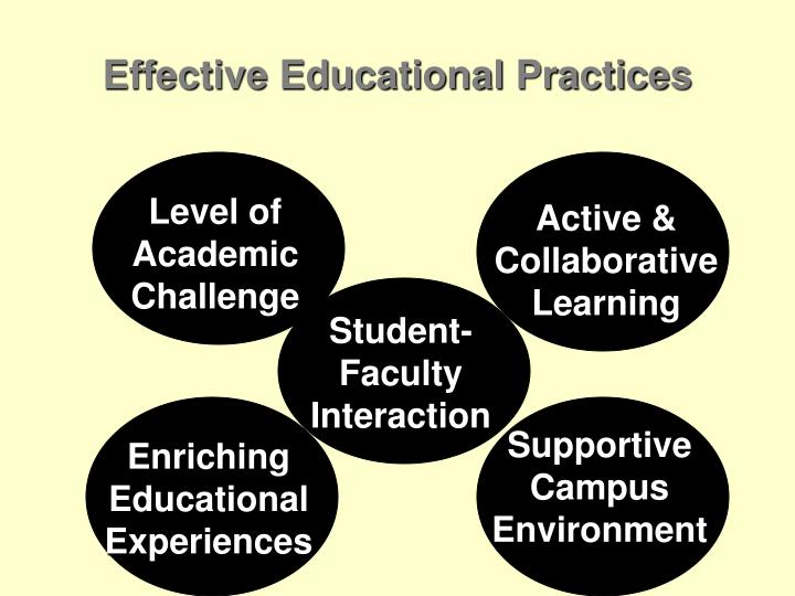 Effective Educational Practices