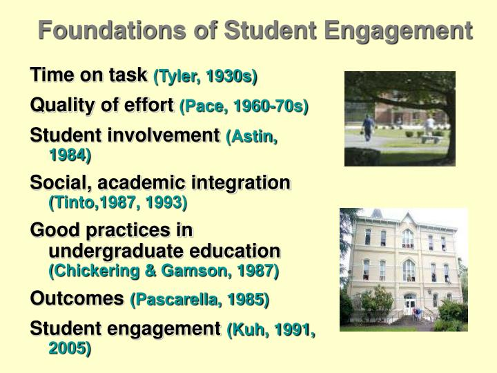 Foundations of Student Engagement