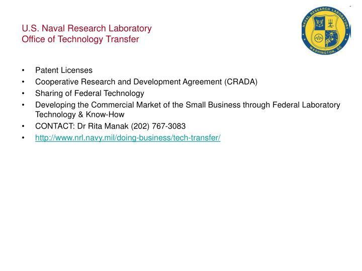 U.S. Naval Research Laboratory