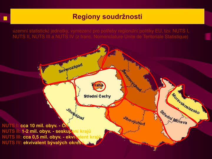 Regiony soudržnosti