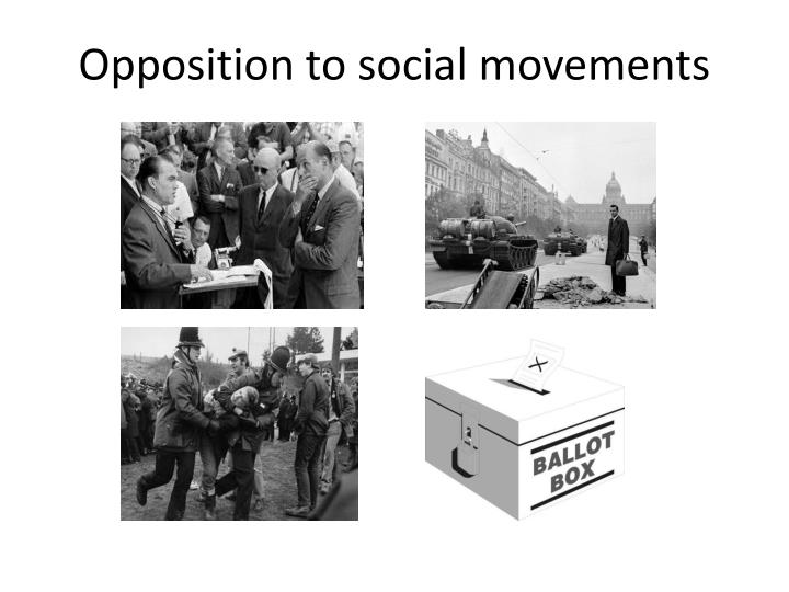 Opposition to social movements