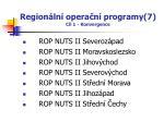 region ln opera n programy 7 c l 1 konvergence