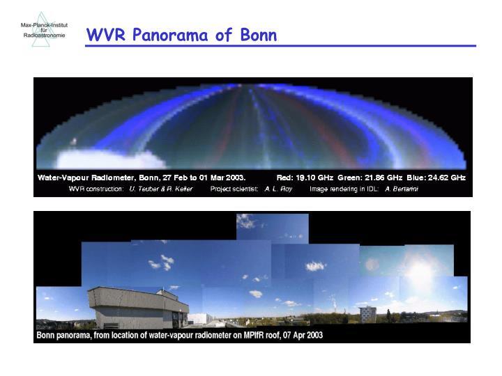 WVR Panorama of Bonn