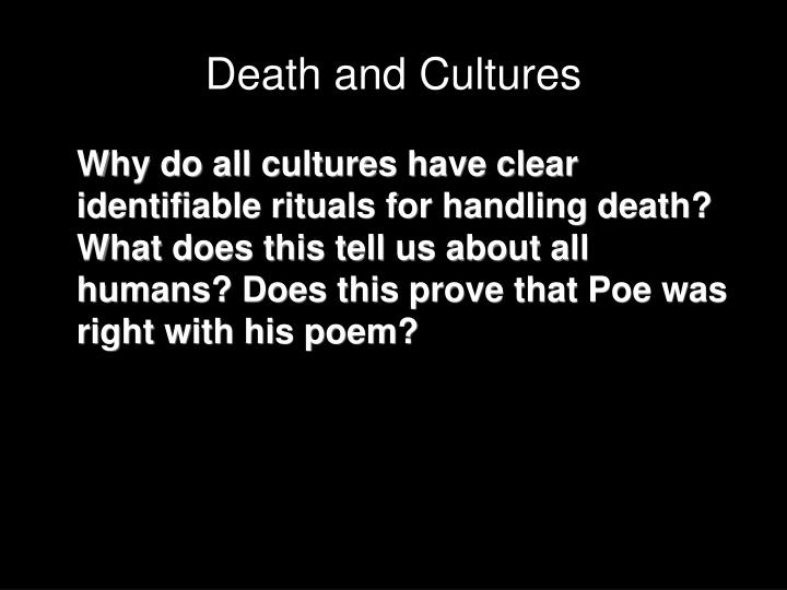 Death and Cultures