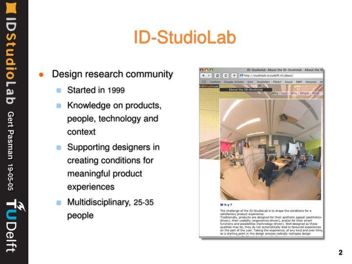Id studiolab