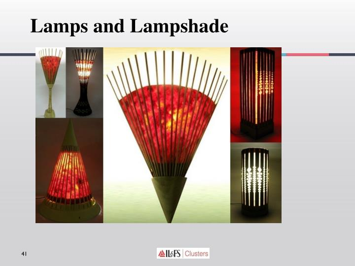 Lamps and Lampshade