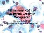 uk national audit of chlamydial infection management