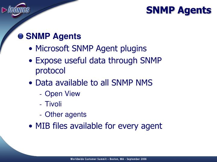 SNMP Agents