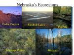 nebraska s ecoregions
