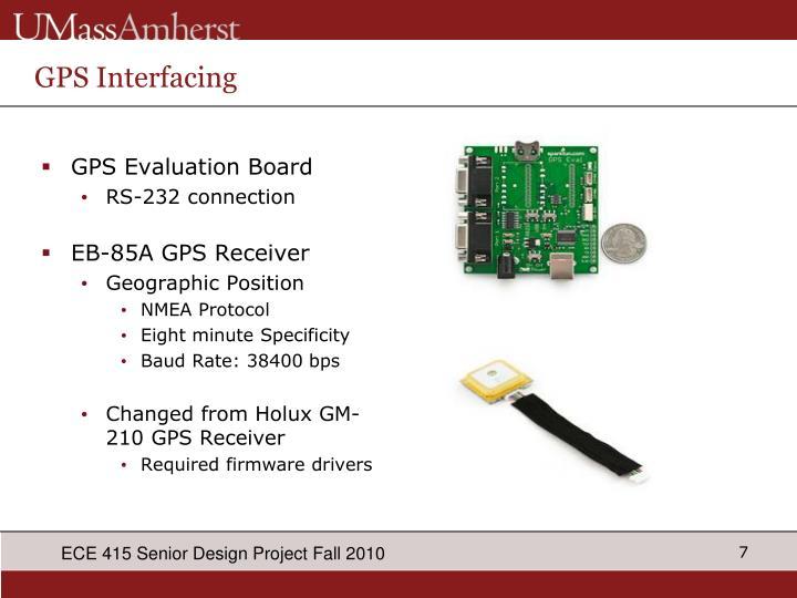 GPS Interfacing