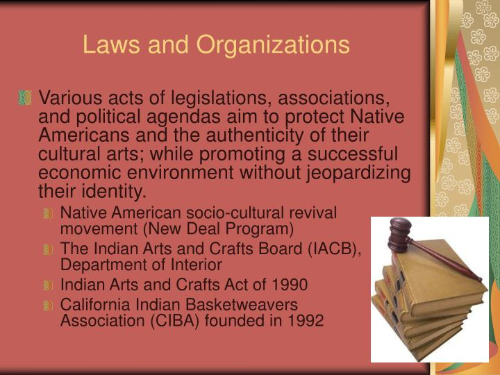 Laws and Organizations