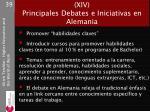 curr culo competencias trabajo xiv principales debates e iniciativas en alemania