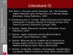 literature i