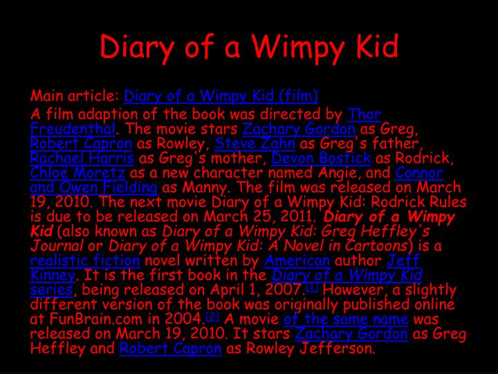 Who Is Angie In Diary Of A Wimpy Kid Books