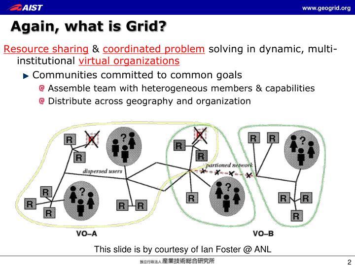 Again what is grid