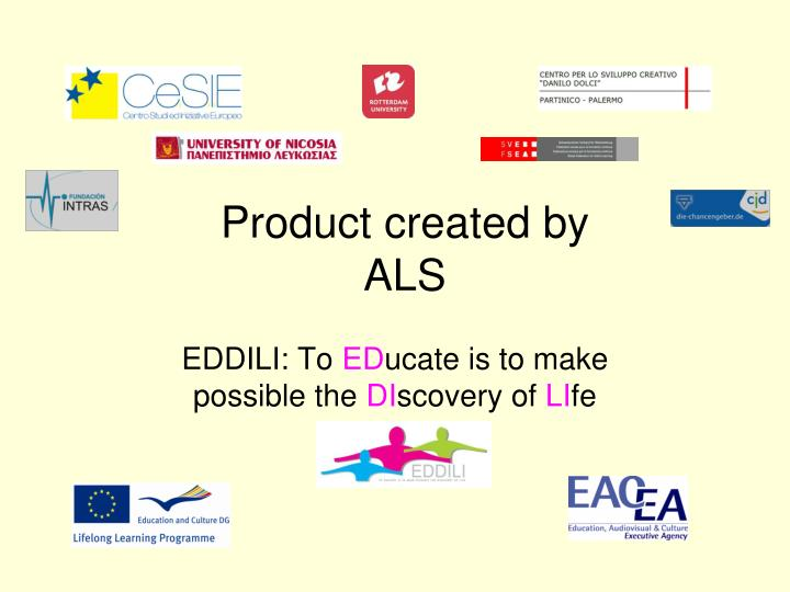 product created by als n.