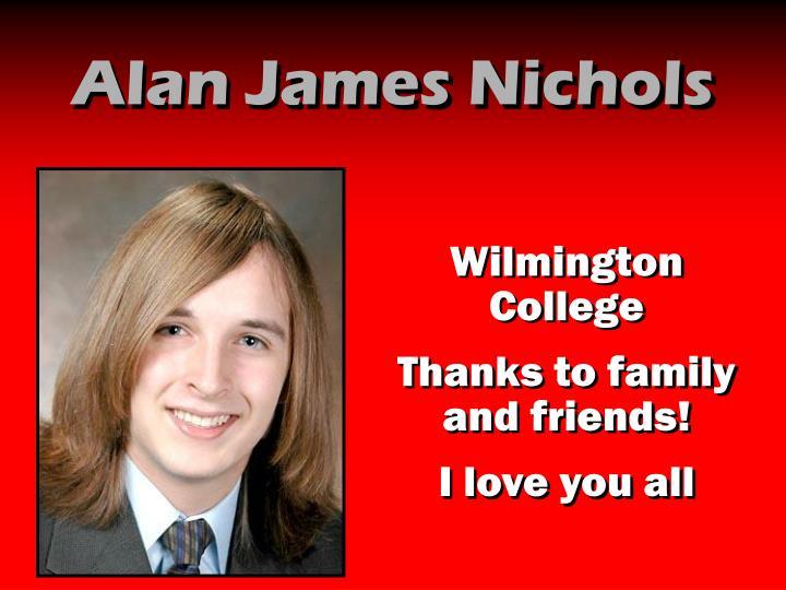 Alan James Nichols