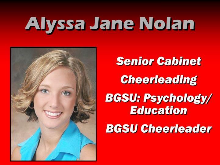 Alyssa Jane Nolan