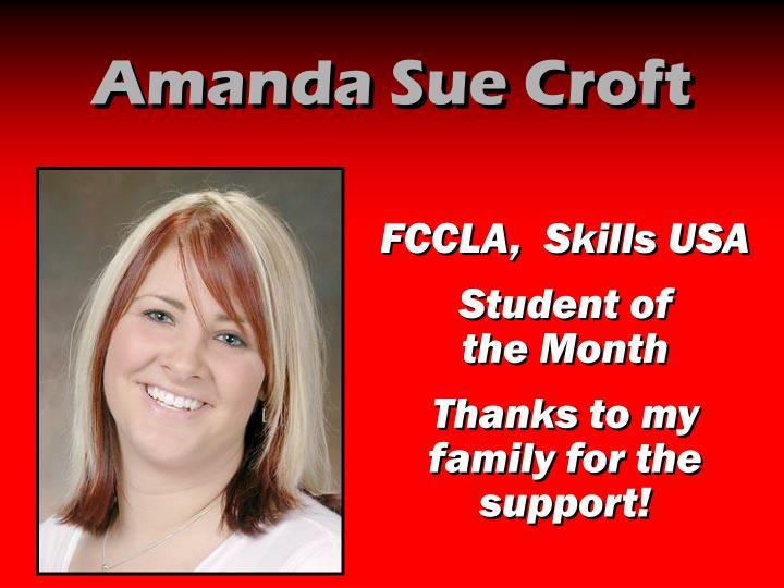 Amanda Sue Croft