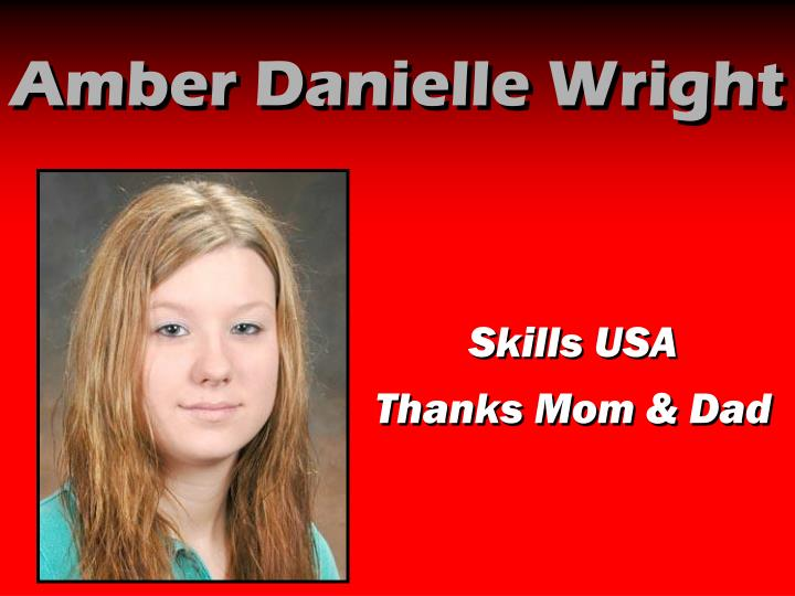 Amber Danielle Wright