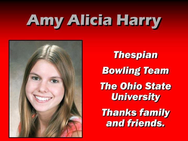 Amy Alicia Harry