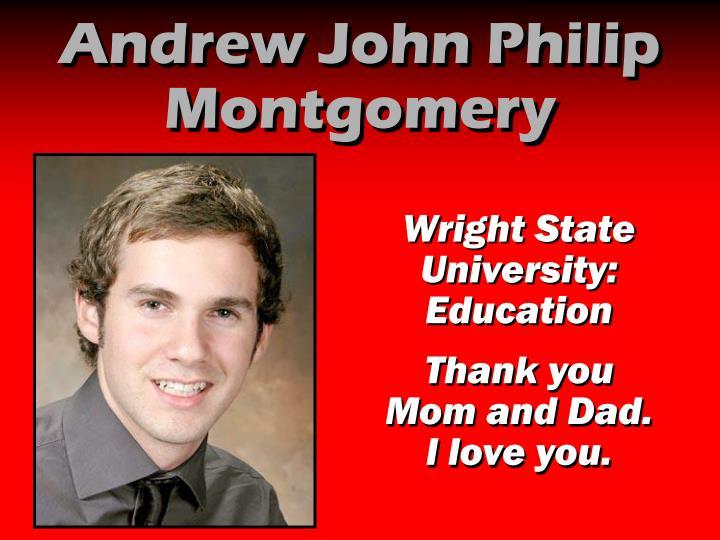 Andrew John Philip Montgomery