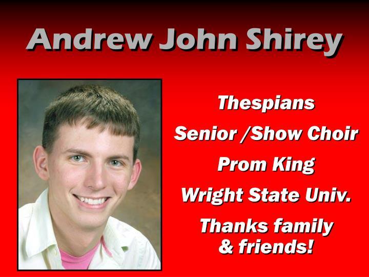 Andrew John Shirey