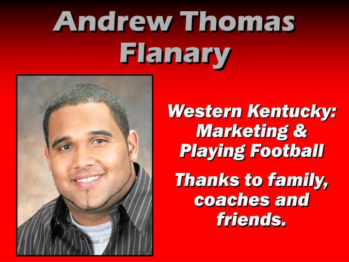 Andrew Thomas Flanary