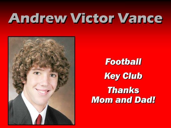 Andrew Victor Vance