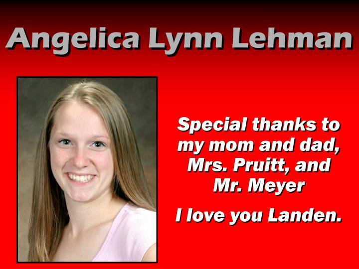 Angelica Lynn Lehman