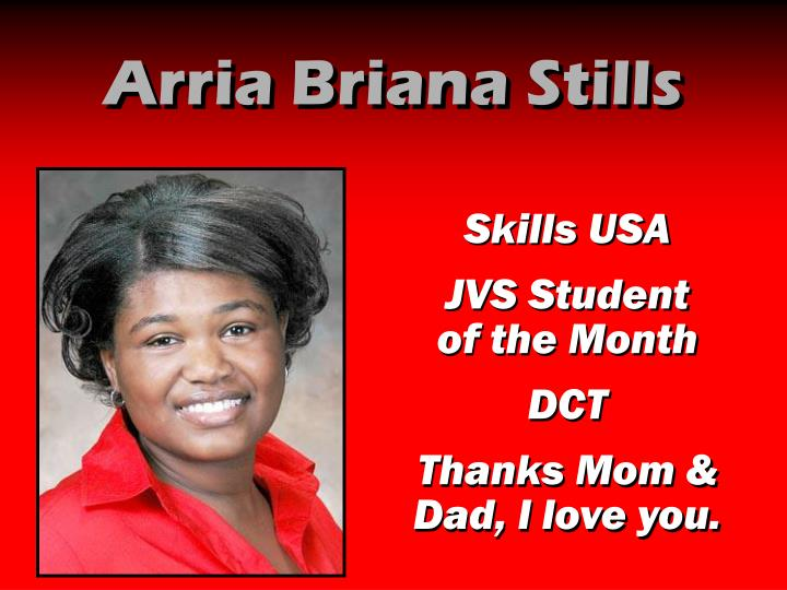 Arria Briana Stills
