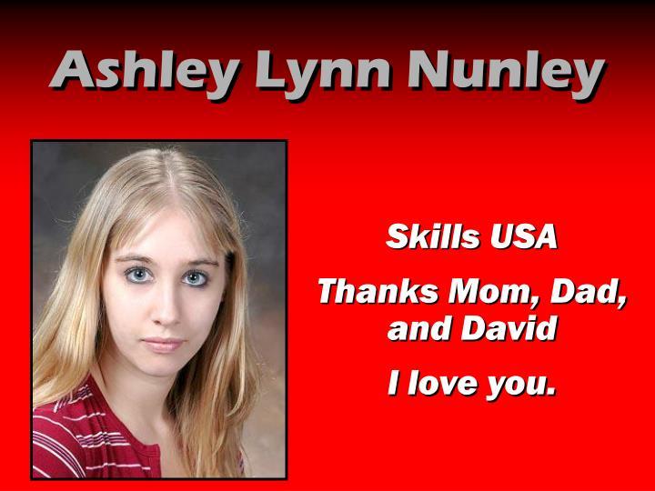 Ashley Lynn Nunley