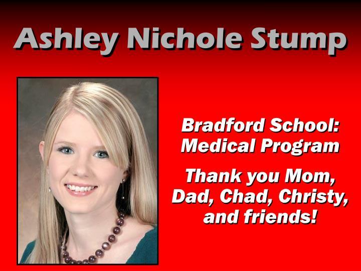 Ashley Nichole Stump