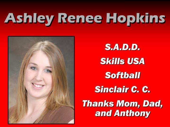 Ashley Renee Hopkins
