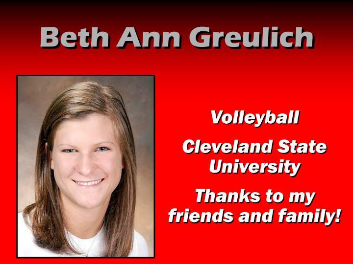 Beth Ann Greulich