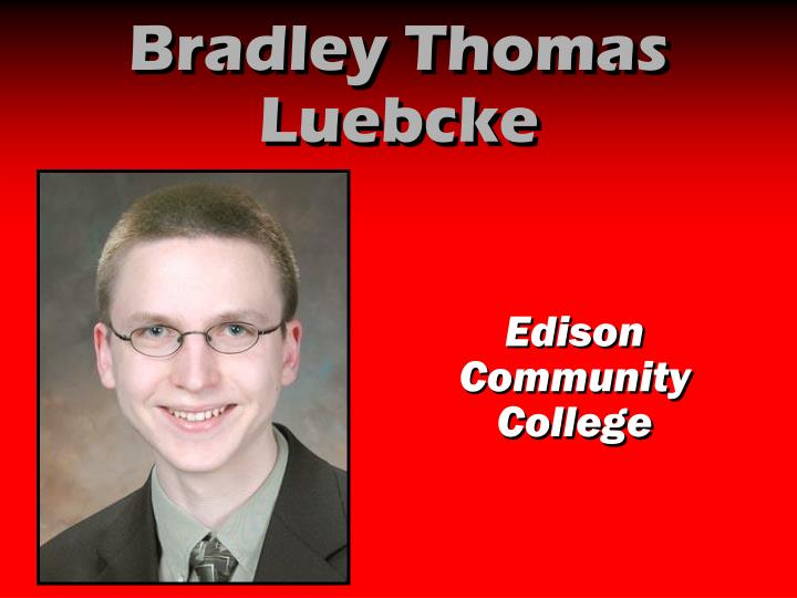 Bradley Thomas Luebcke
