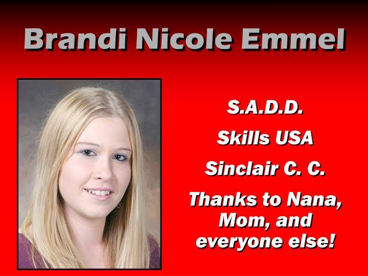 Brandi Nicole Emmel