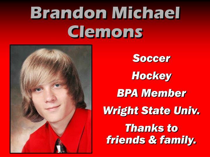 Brandon Michael Clemons