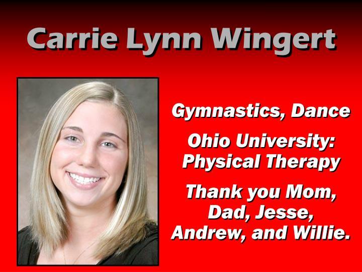 Carrie Lynn Wingert