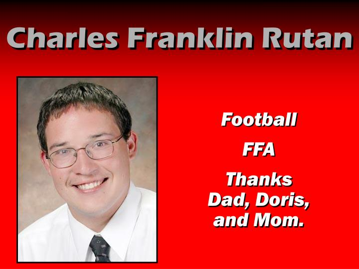 Charles Franklin Rutan
