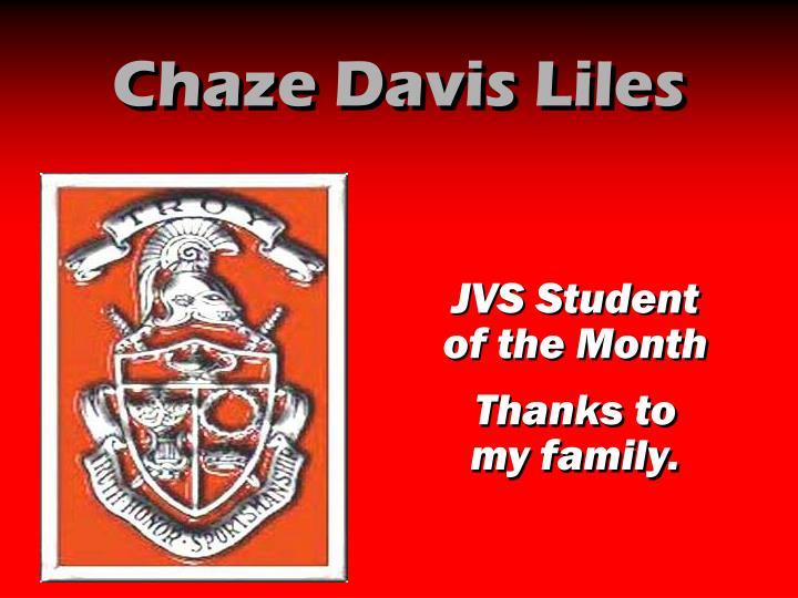Chaze Davis Liles