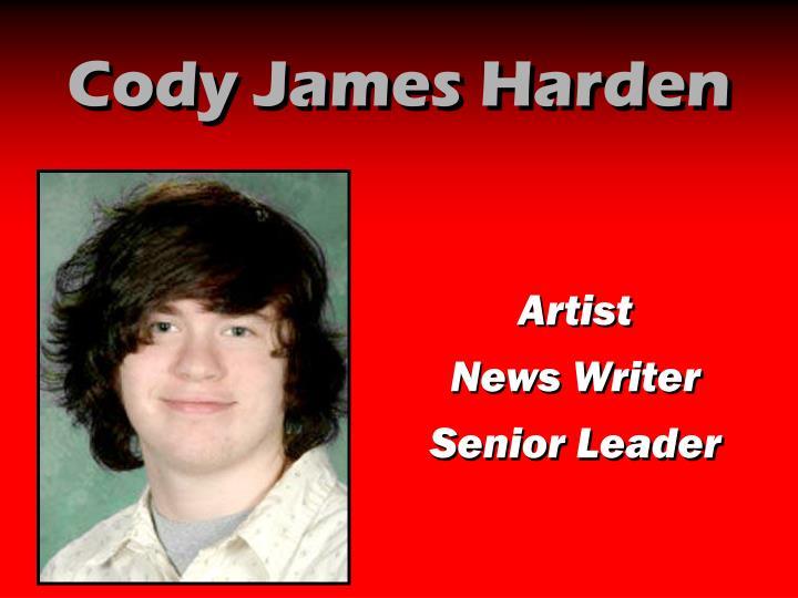Cody James Harden